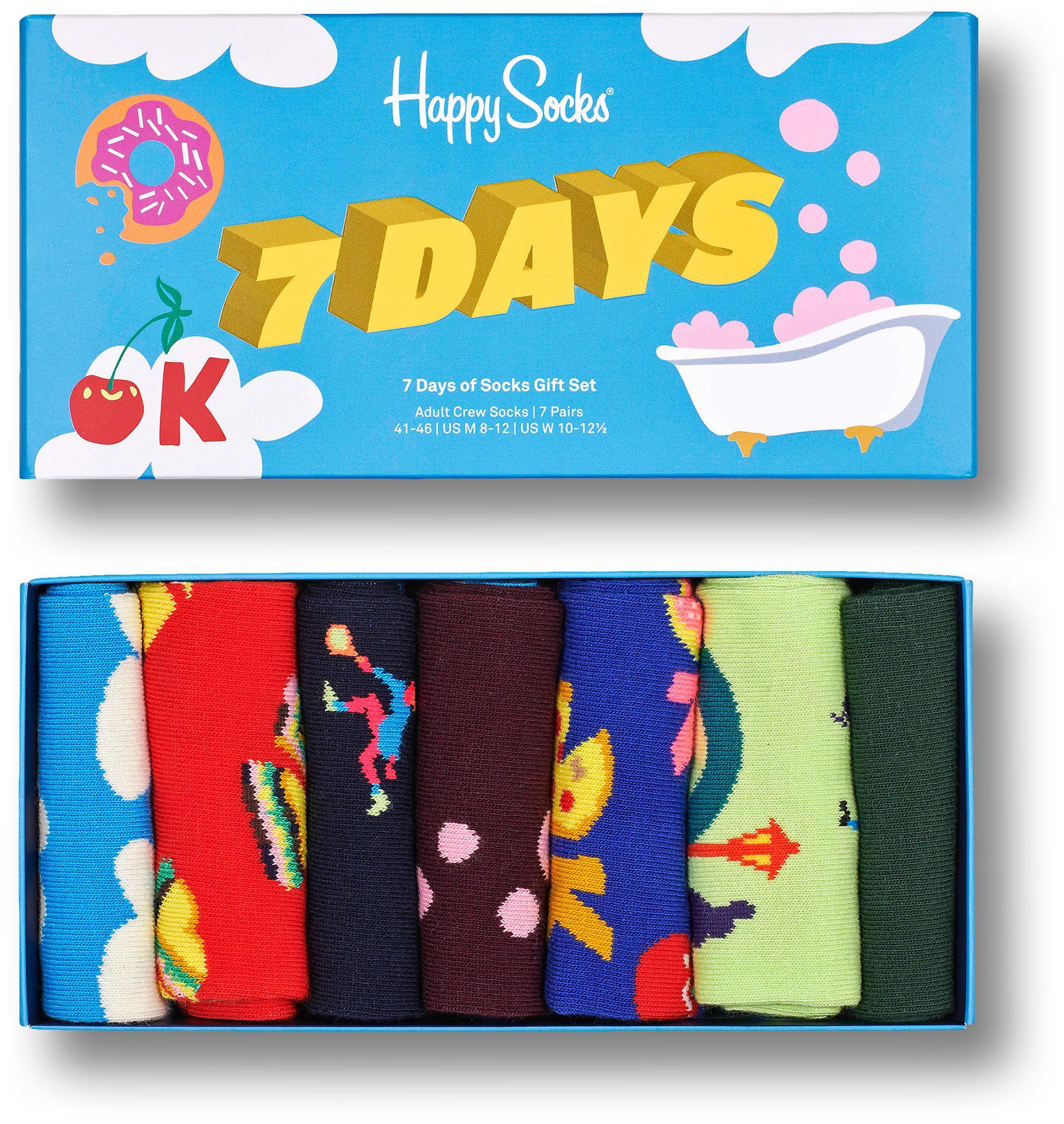 Happy Socks 7-Pack 7 Days Gift Set Multi 0200 41-46