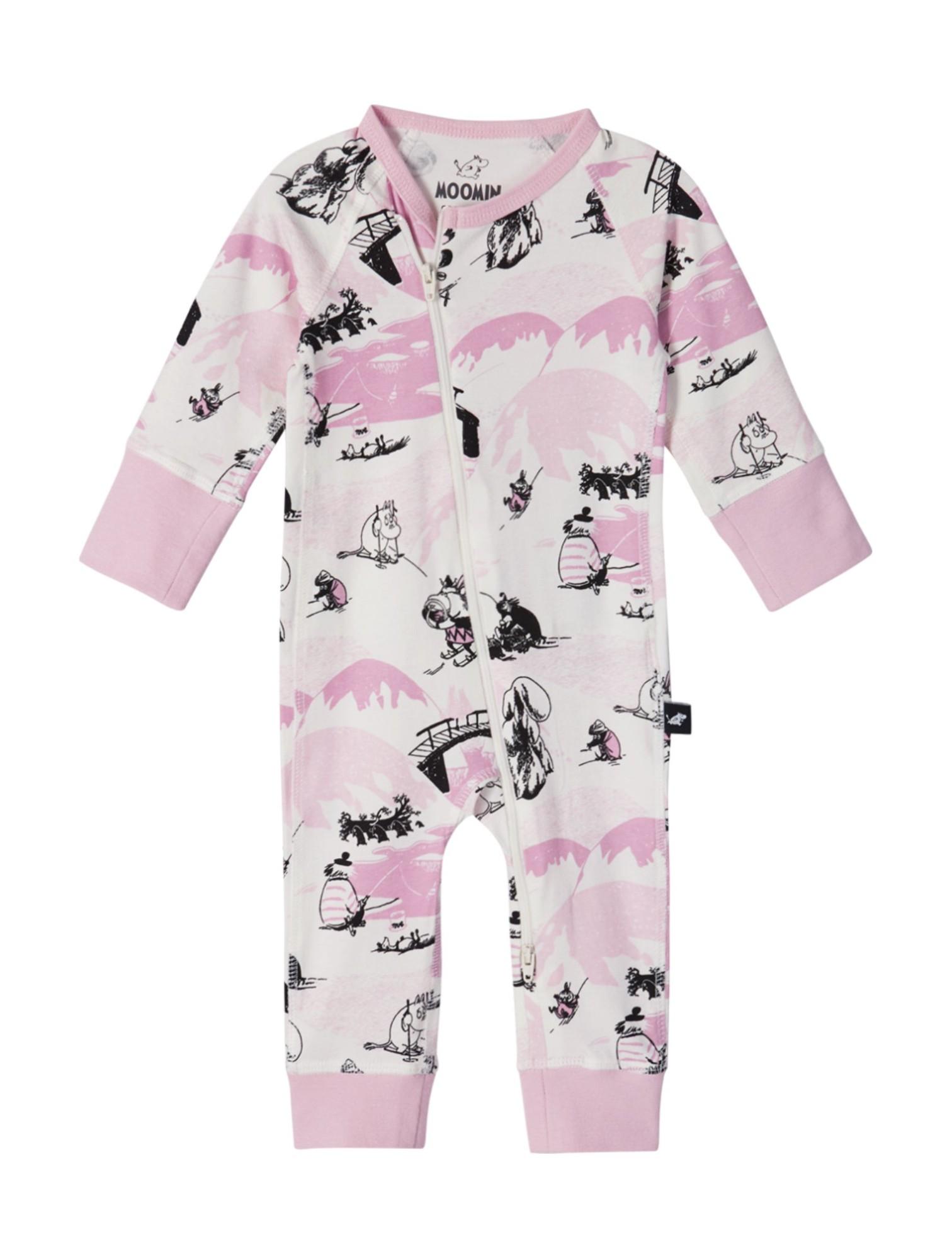 REIMA Moomin Trygg Blush Pink 62-68