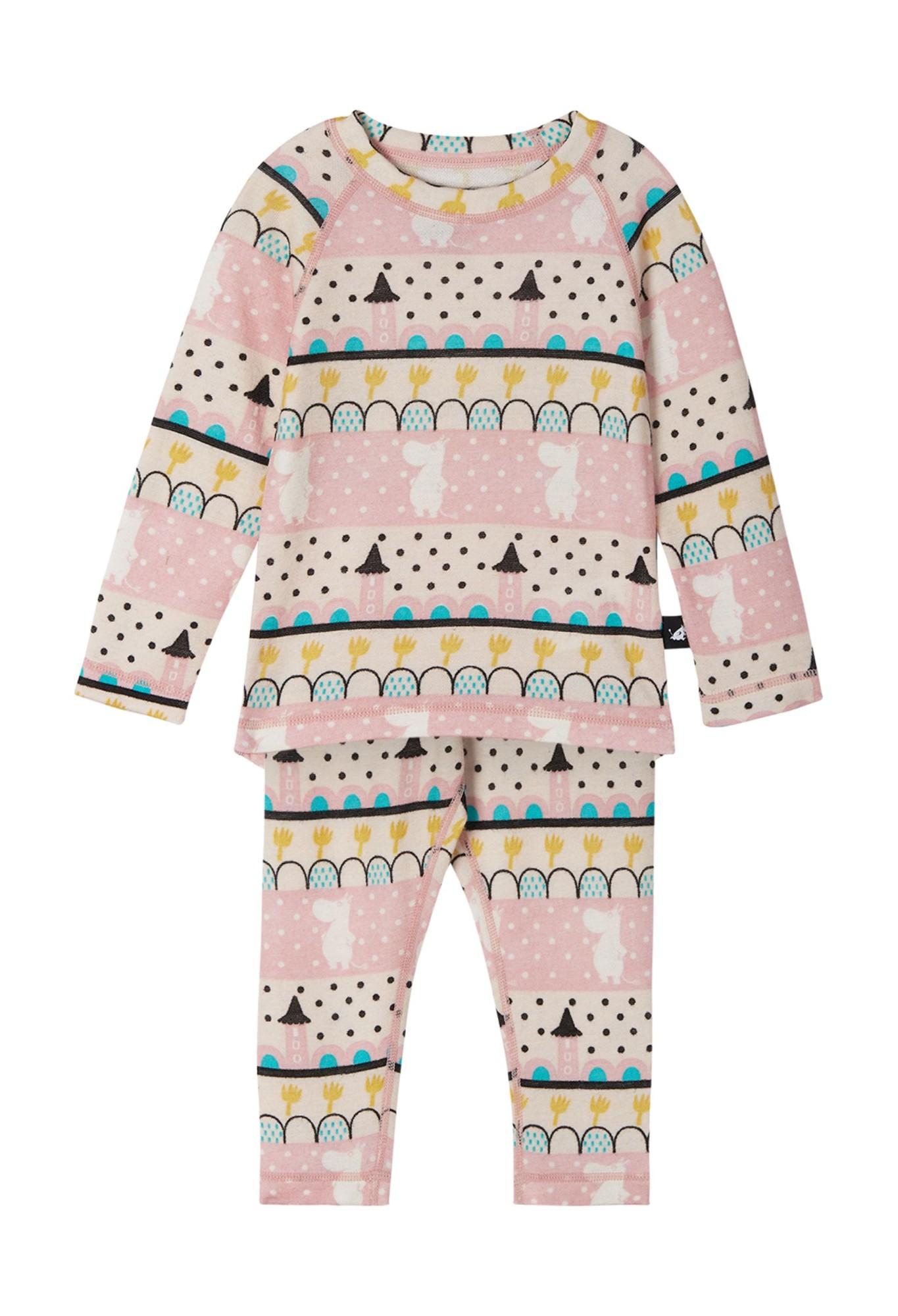 REIMA Moomin Trivsam Blush Pink 80