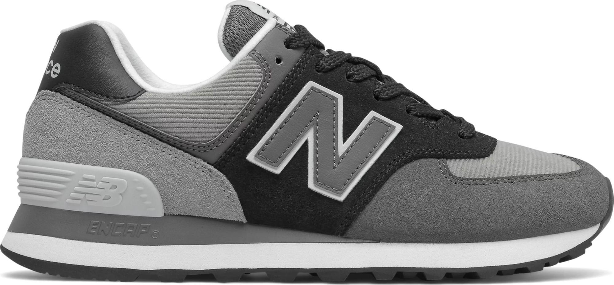 New Balance WL574 Black WU2 37