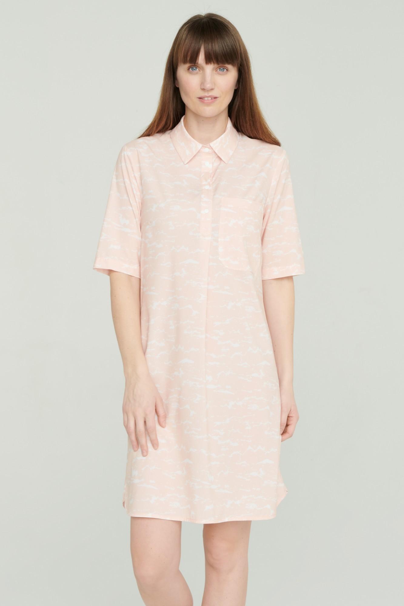 AUDIMAS Neglamži lengvo audinio suknelė 2111-012 Chintz Rose Printed XS