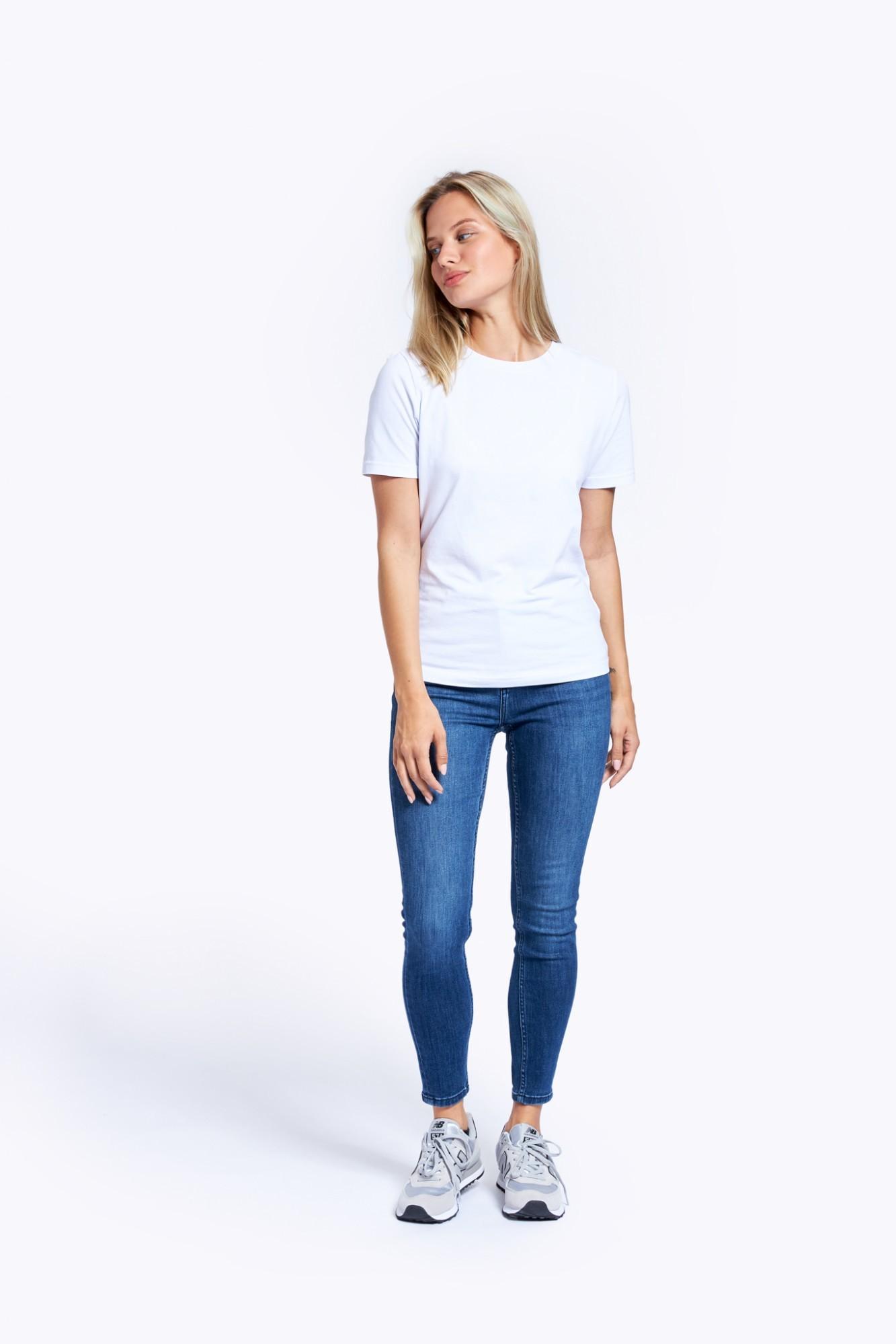 AUDIMAS Medvilniniai marškinėliai 2121-073 White XL