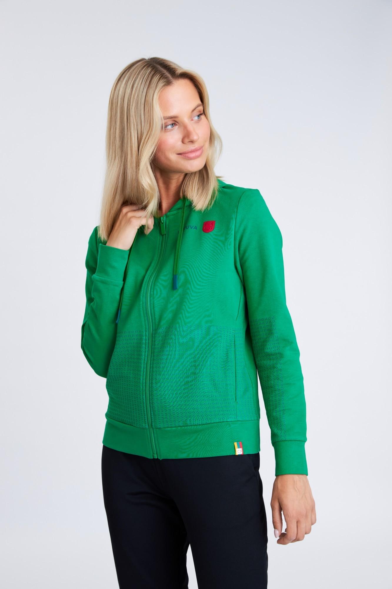 AUDIMAS Atsegamas tamprus medviln. džemp. 21LT-008 Jolly Green M