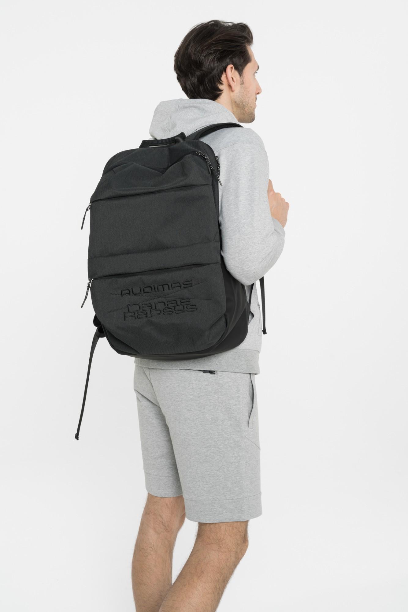 AUDIMAS Didelis sportinis krepšys NOS 1-02-124 Black One size