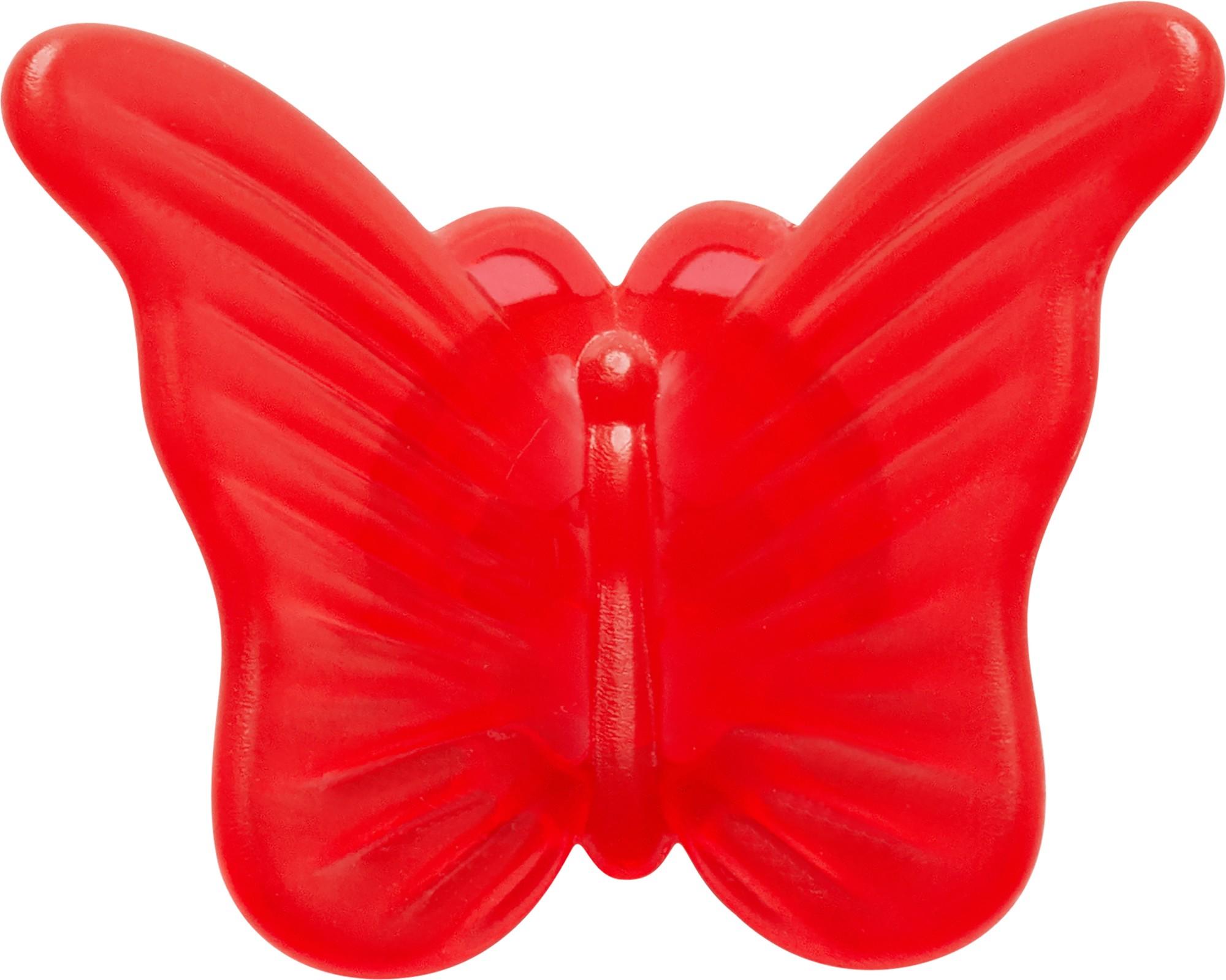 Crocs™ CROCS Red Butterfly Clip