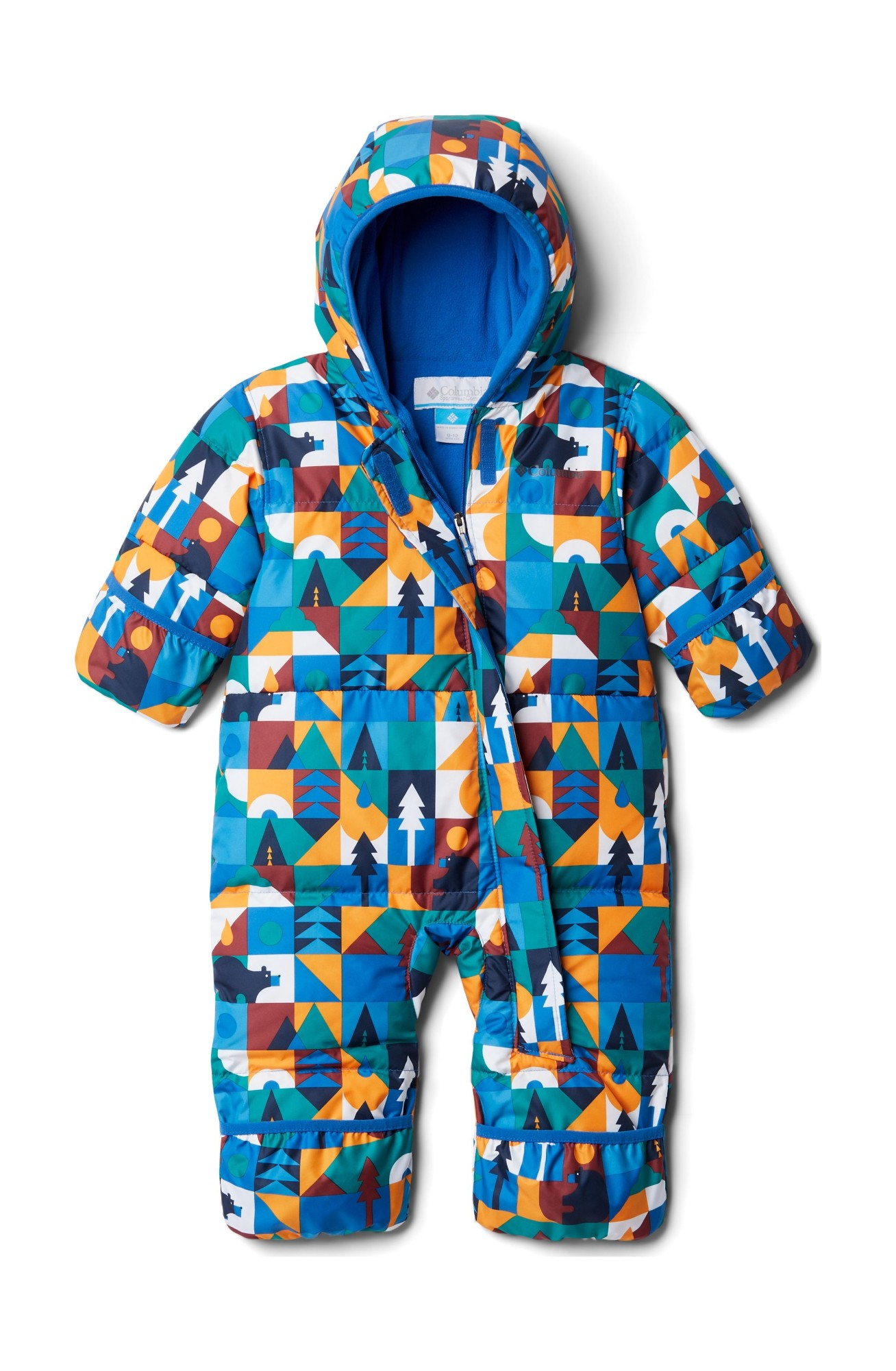 Columbia Snuggly Bunny Bunting Bright Indigo Bearly There 80
