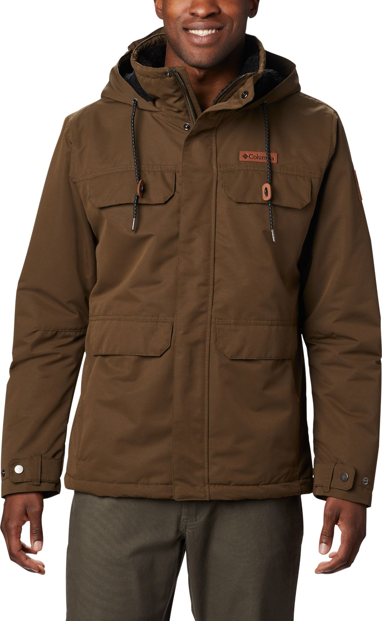 Columbia South Canyon Lined Jacket Men's Olive Green M