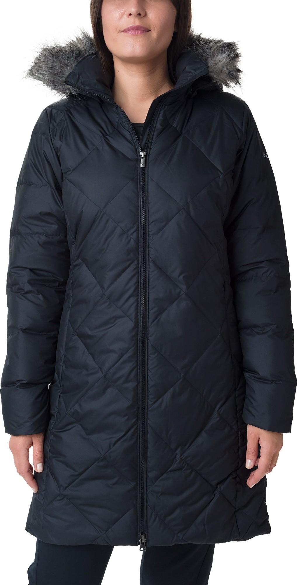 Columbia Icy Heights II Mid Length Down Jacket Black L