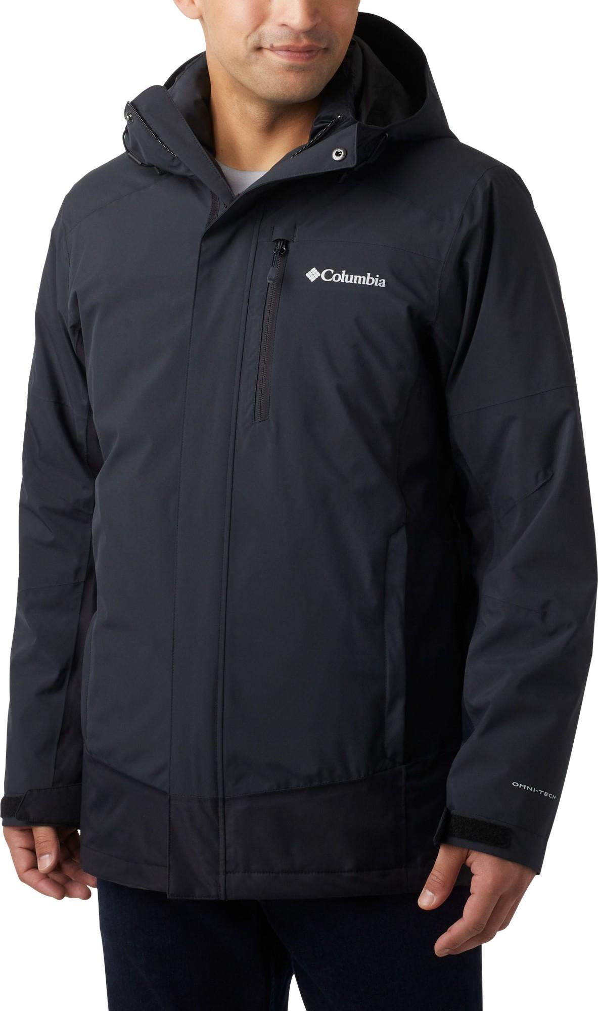 Columbia Lhotse III Interchange Jacket Men's Black L