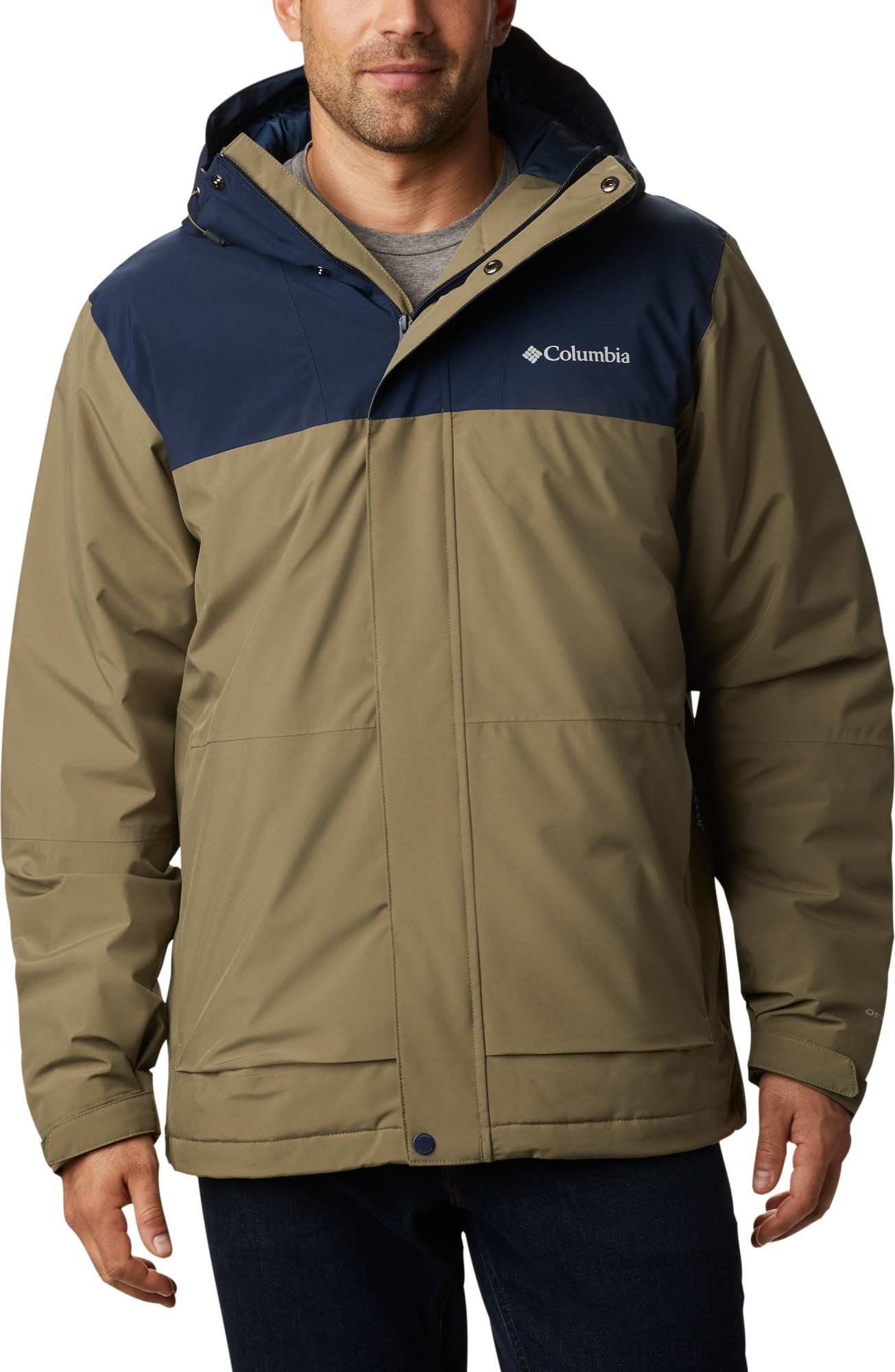 Columbia Horizon Explorer Insulated Jacket Men's Stone Green/Collegiate Navy XL