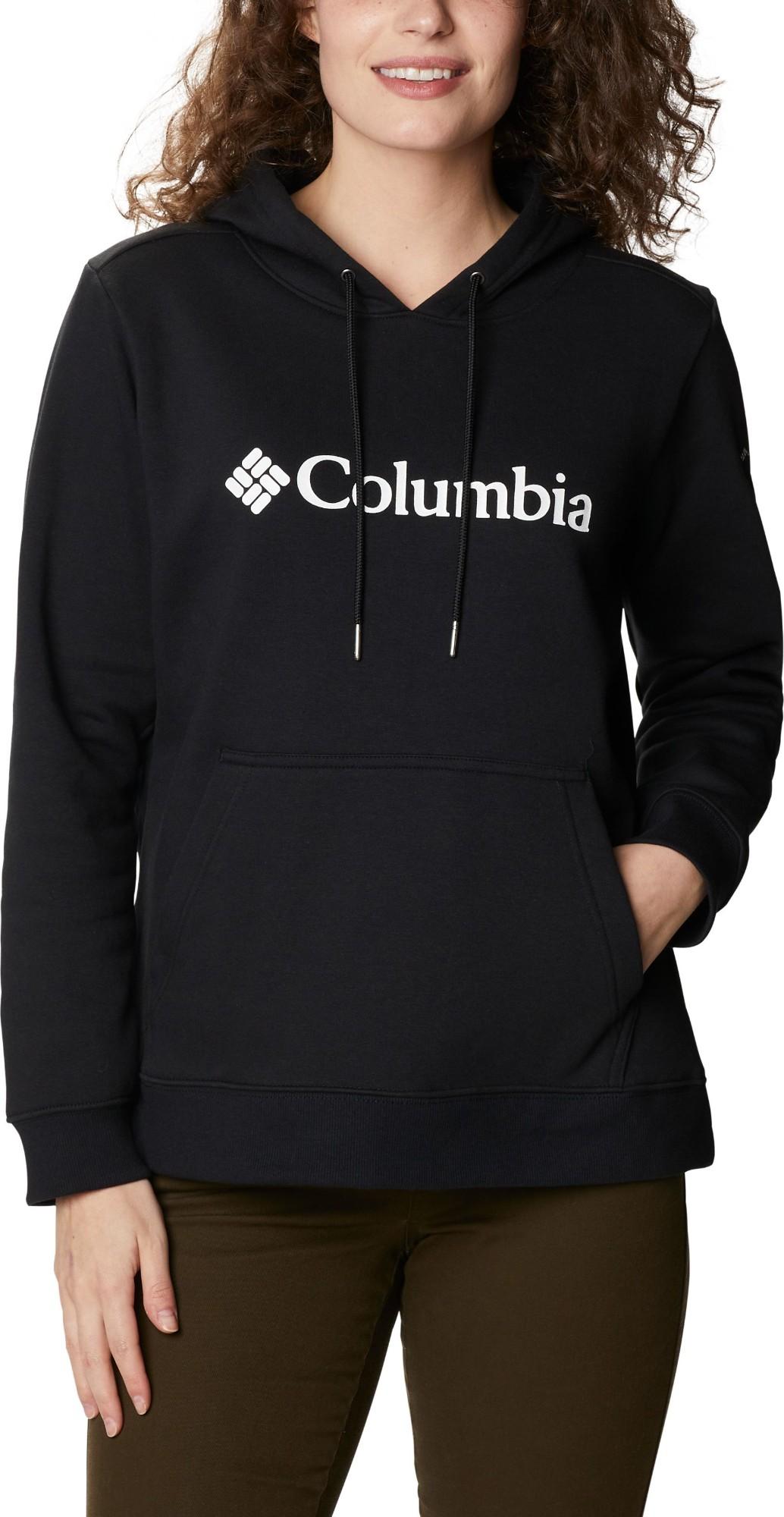 Columbia Logo Hoodie Women's Black M