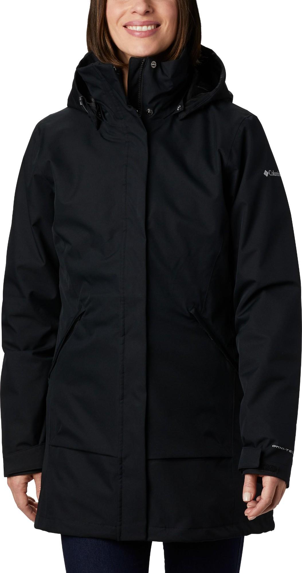 Columbia Pulaski Interchange Jacket Women's Black M