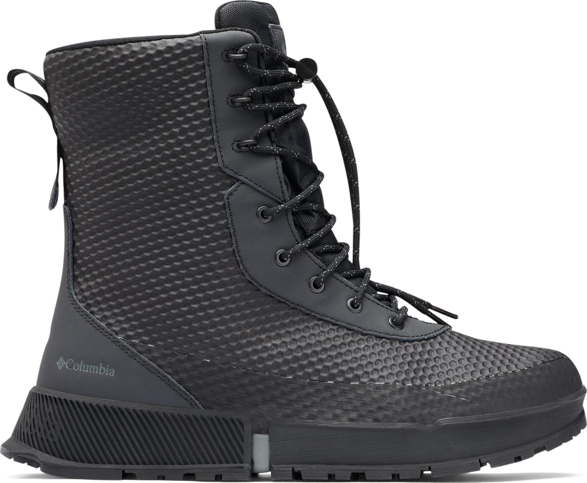 Columbia Hyper-Boreal Omni-Heat Tall Black/Ti Grey Steel 46