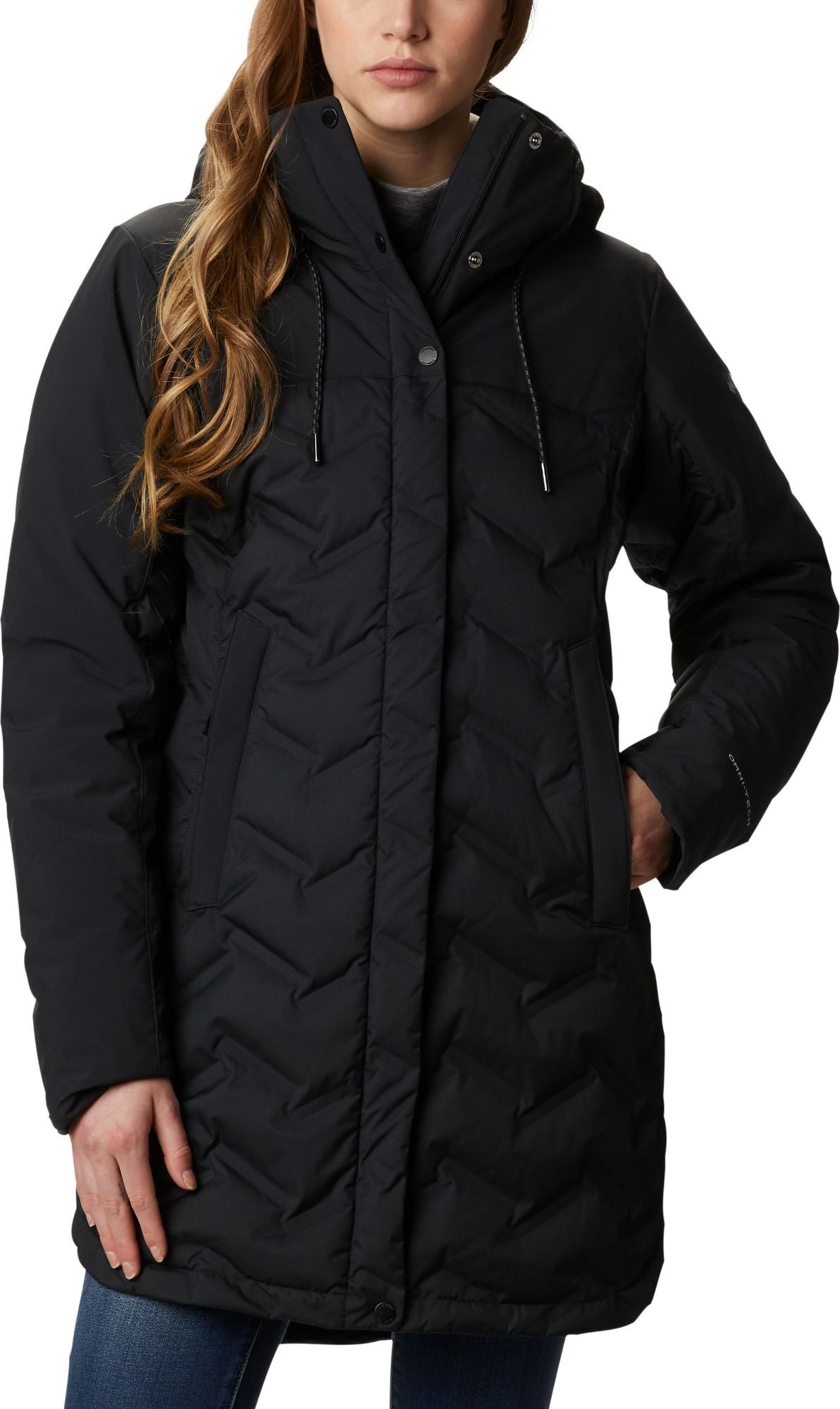 Columbia Mountain Croo Long Down Jacket Women's Black M