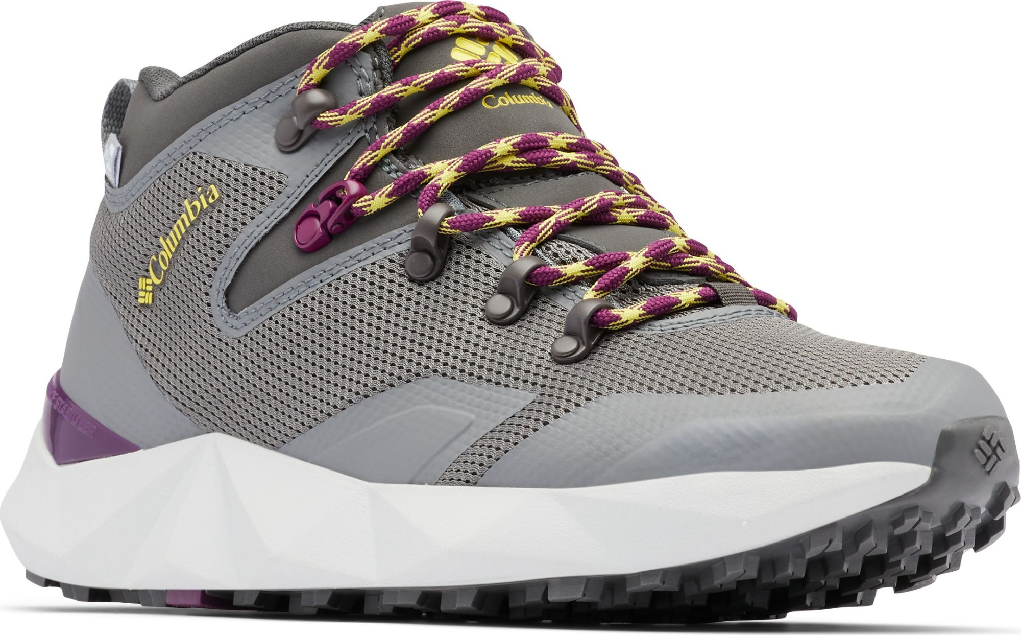 Columbia Facet 60 Outdry Women's Dark Grey/Mineral Yellow 37