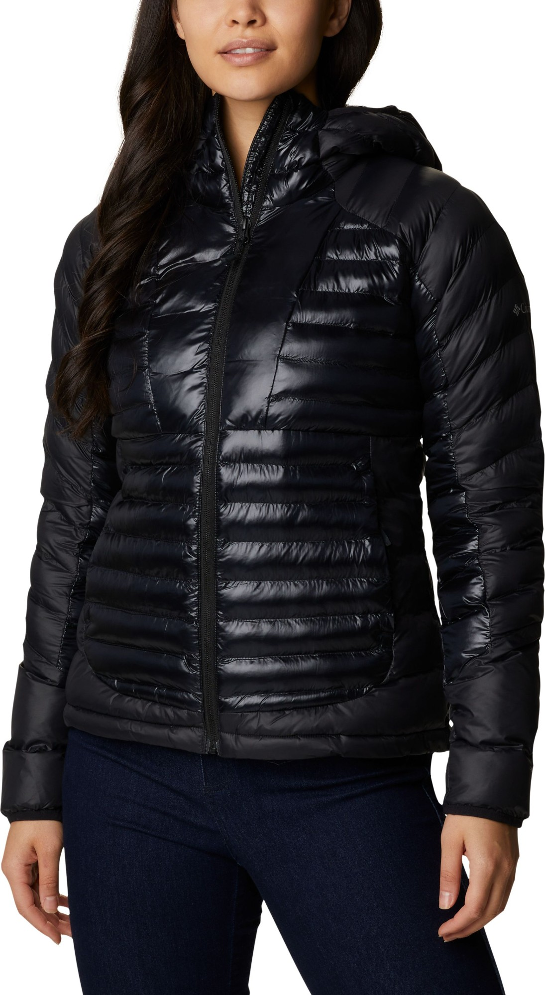 Columbia Labyrinth Loop Hooded Jacket Women's Black L