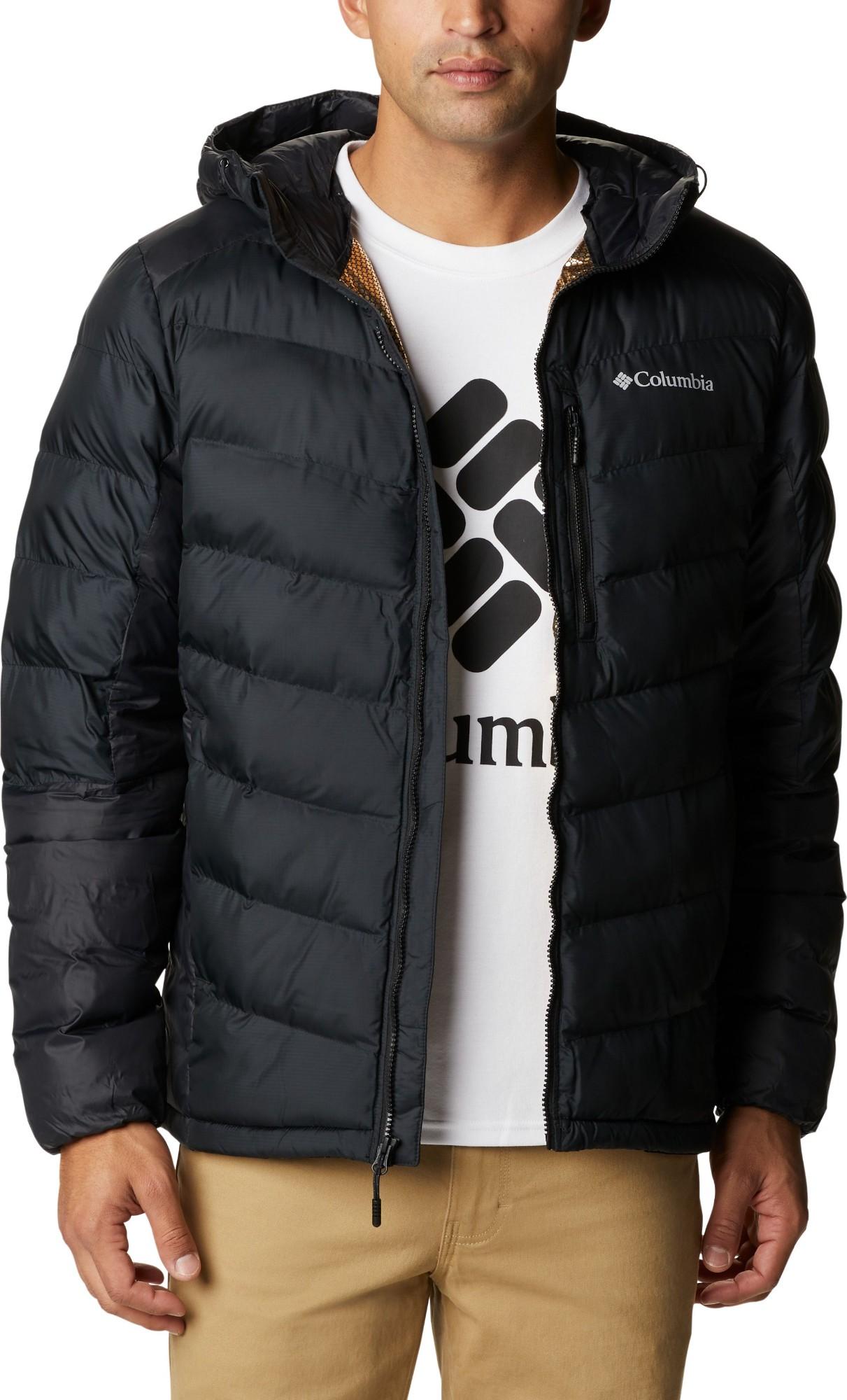 Columbia Labyrinth Loop Hooded Jacket Men's Black M