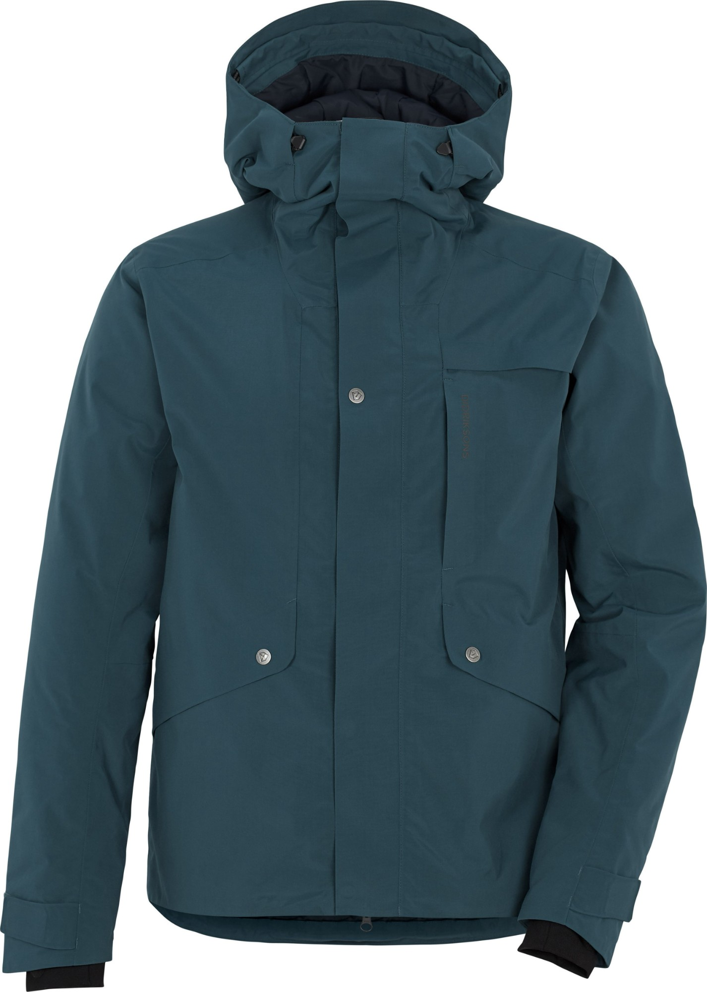 DIDRIKSONS Stern Jacket Port blue M