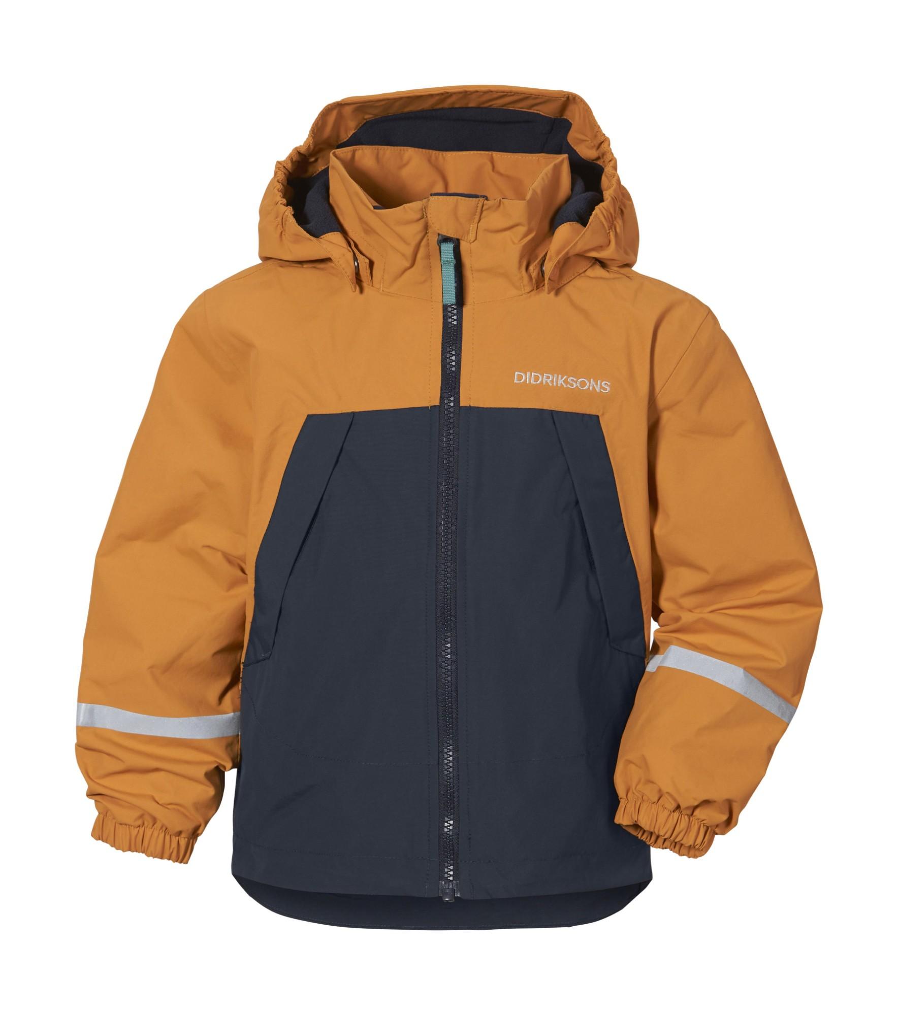 DIDRIKSONS Enso Kids Jacket Burnt glow 110
