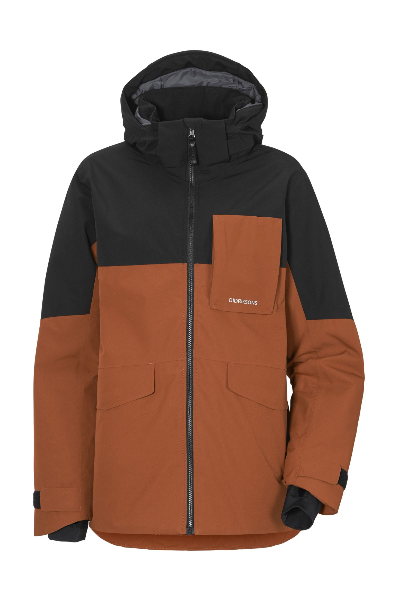 DIDRIKSONS Luke Boy's Jacket 2 Bisquit Brown 140