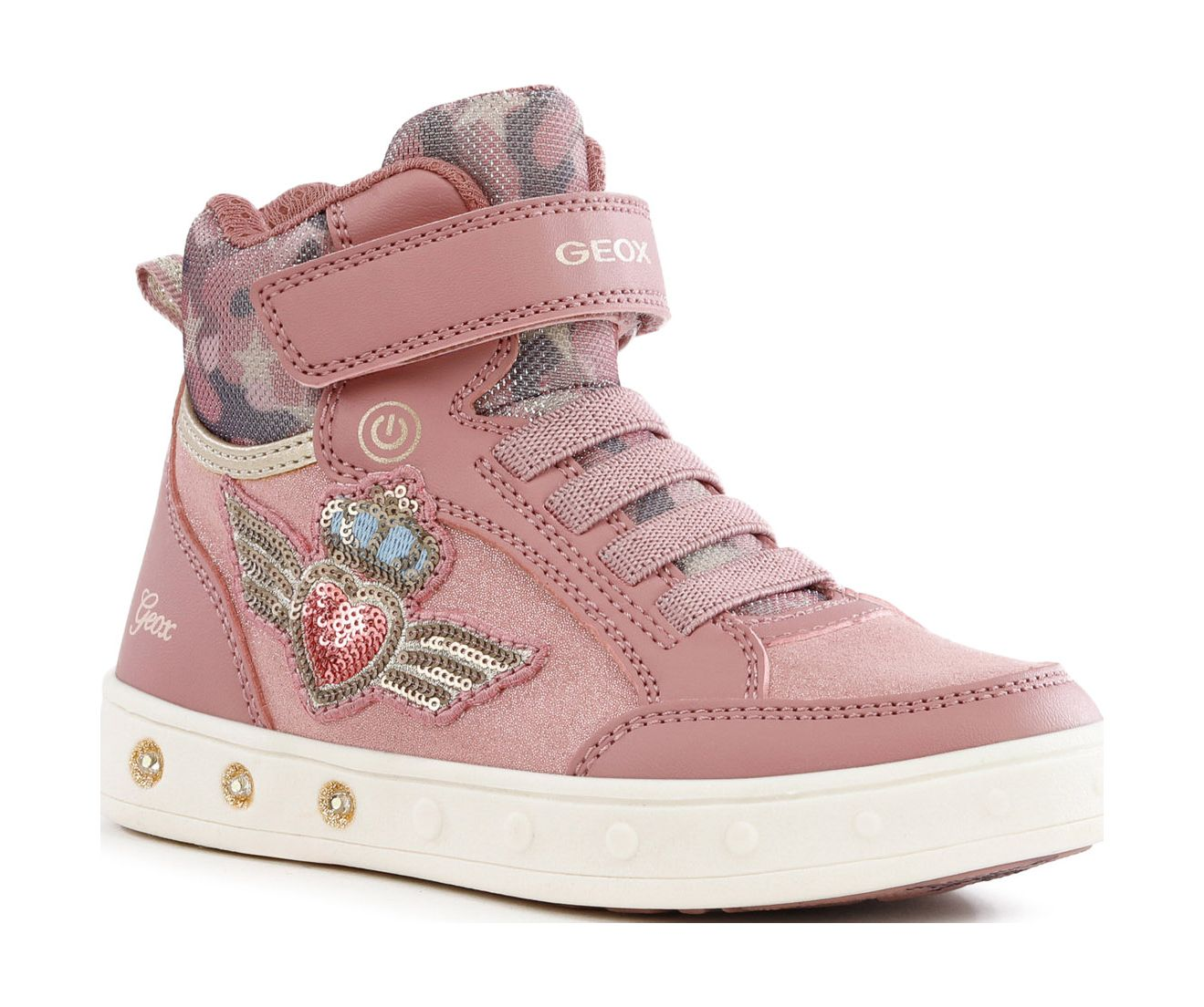 GEOX Skylin J168WB0HS54 Pink C8006 35