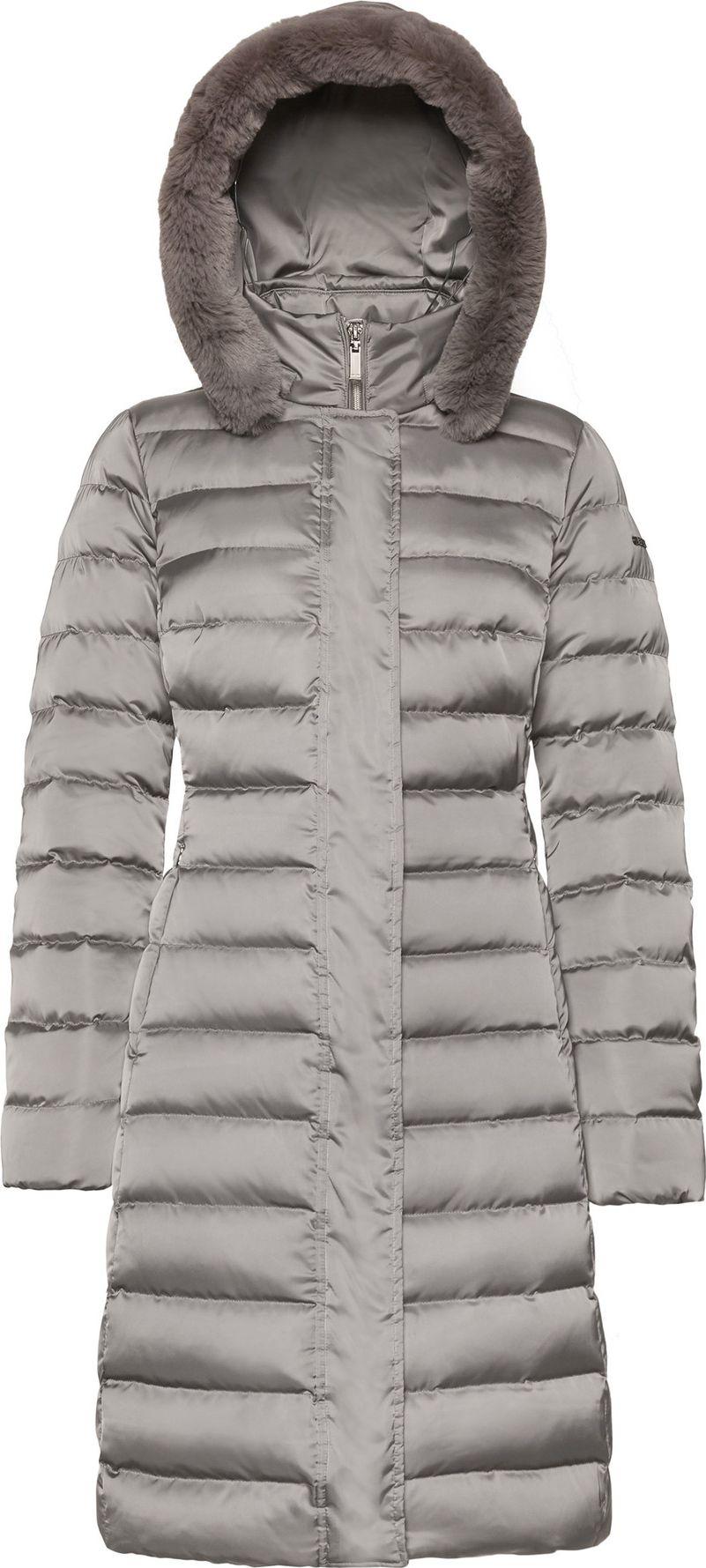 GEOX Bettanie Long Jacket W1425HT2655 Grey F1479 EU40