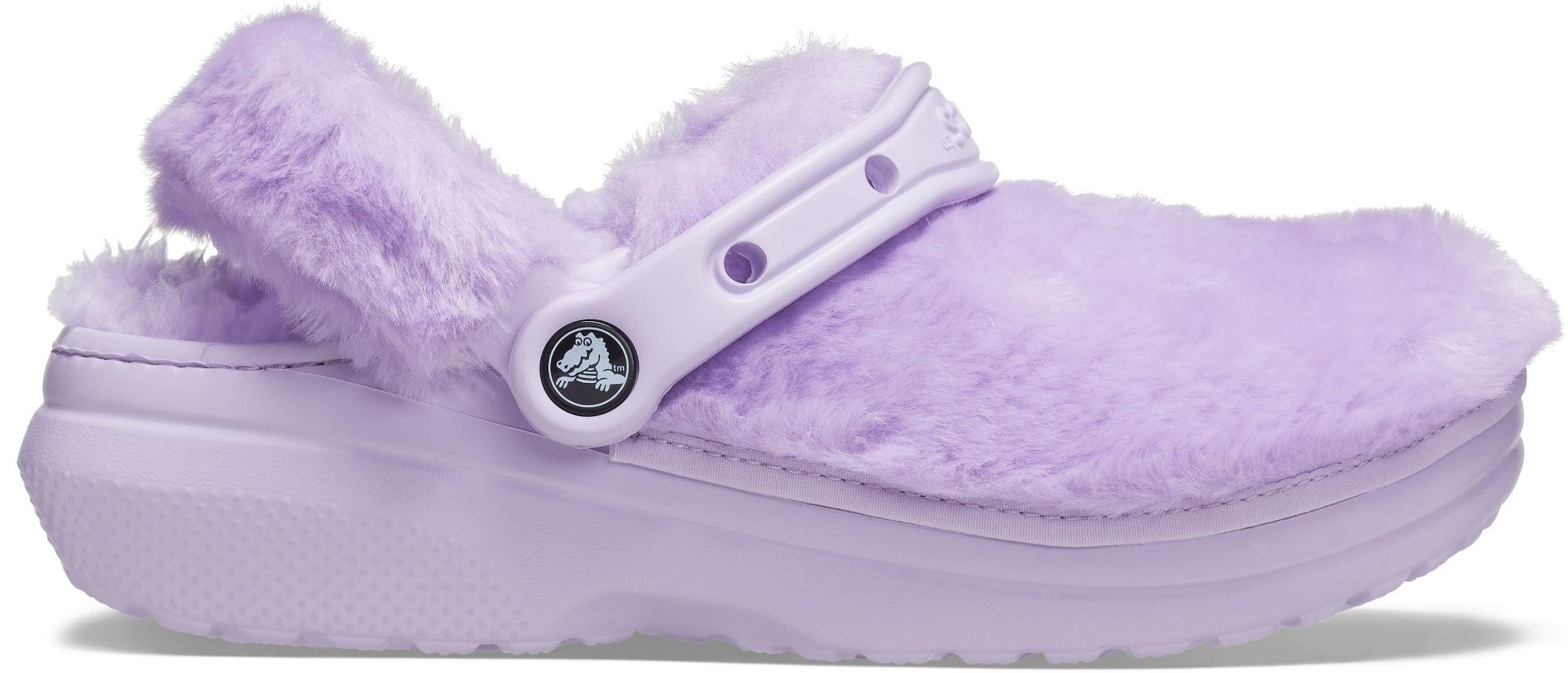Crocs™ Classic Fur Sure Lavender 36,5