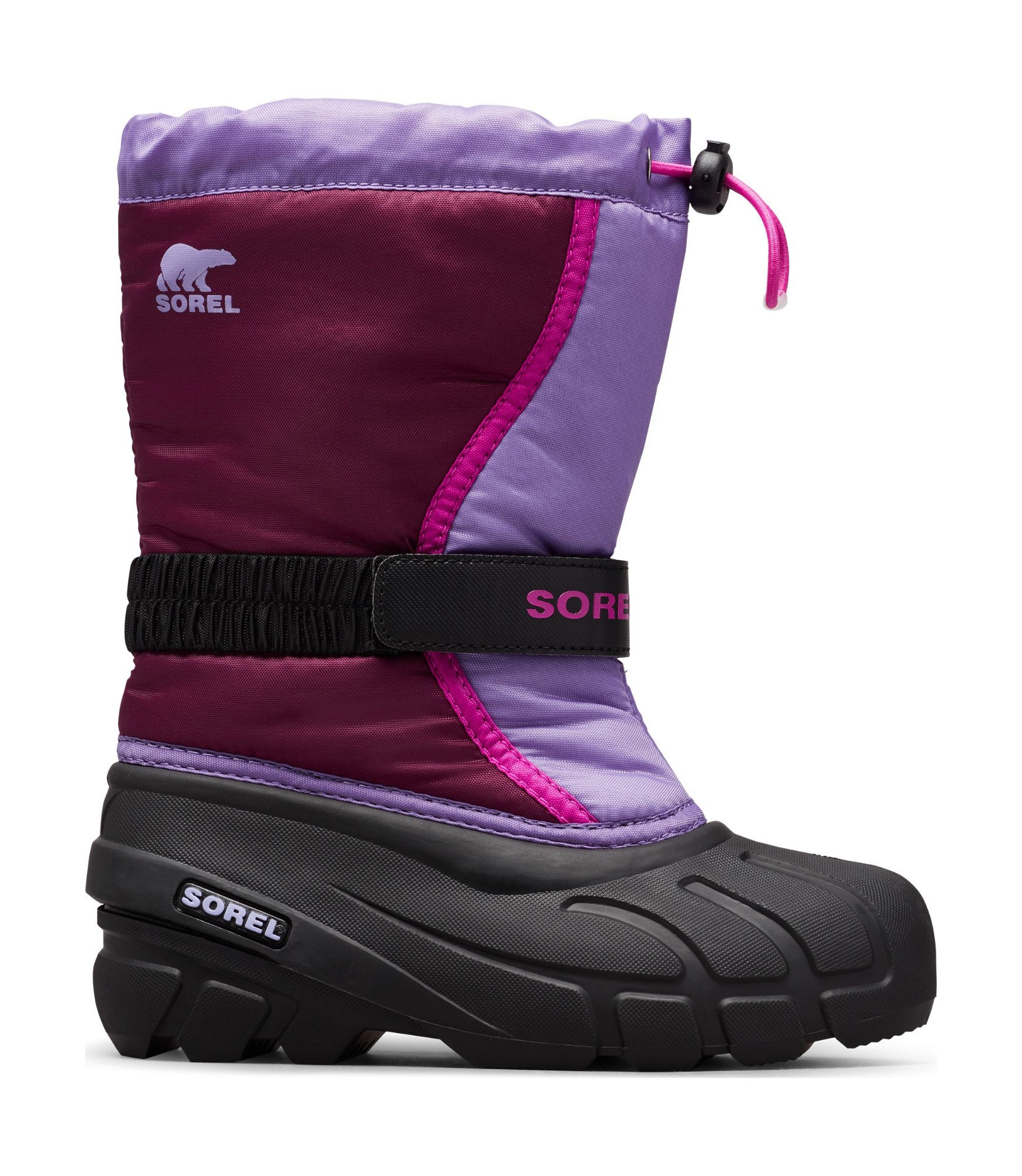 Sorel Flurry Youth Purple Dahlia/Paisley Purple 37
