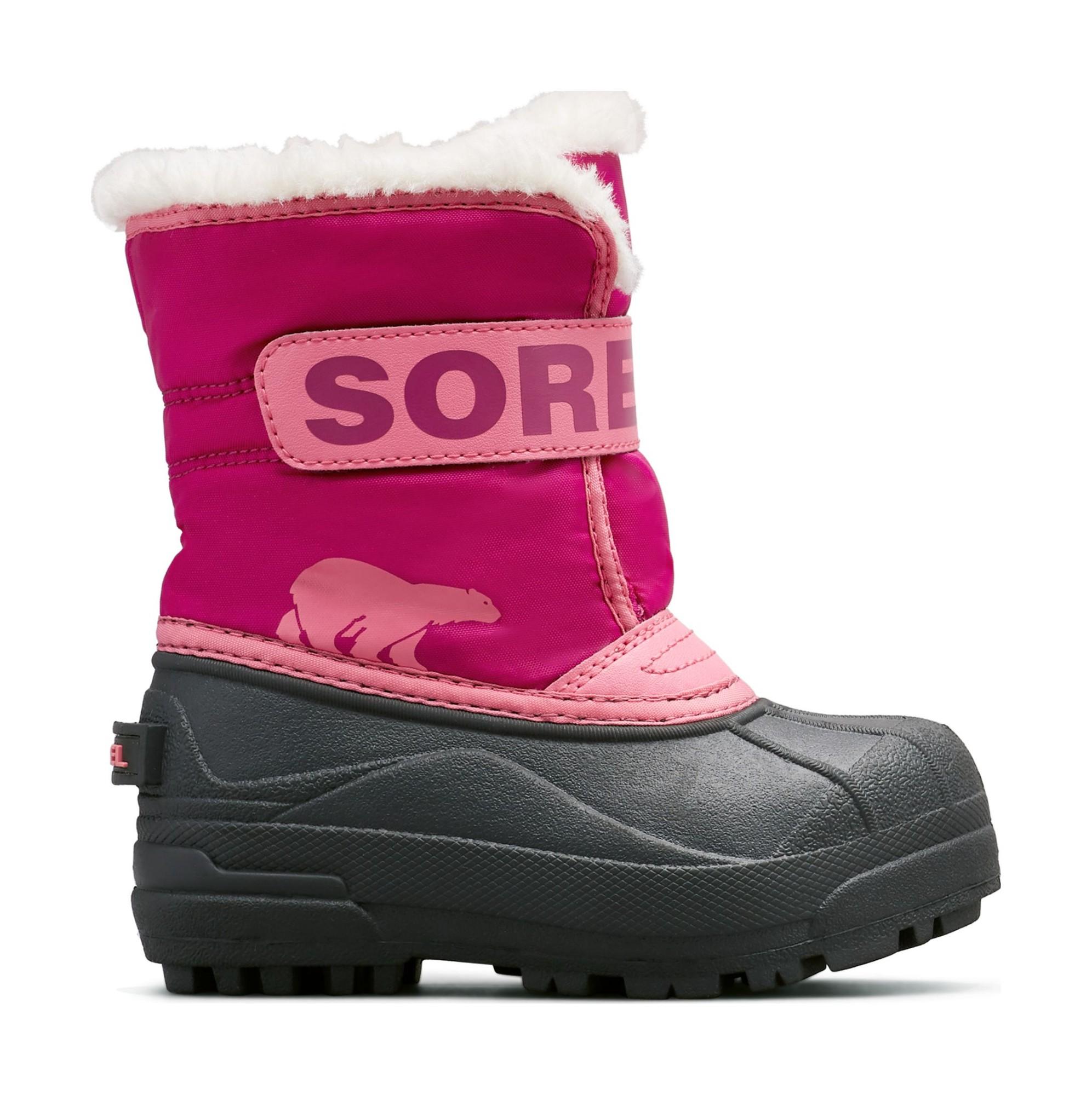 Sorel Snow Commander Kid's Tropic Pink/Deep Blush 29