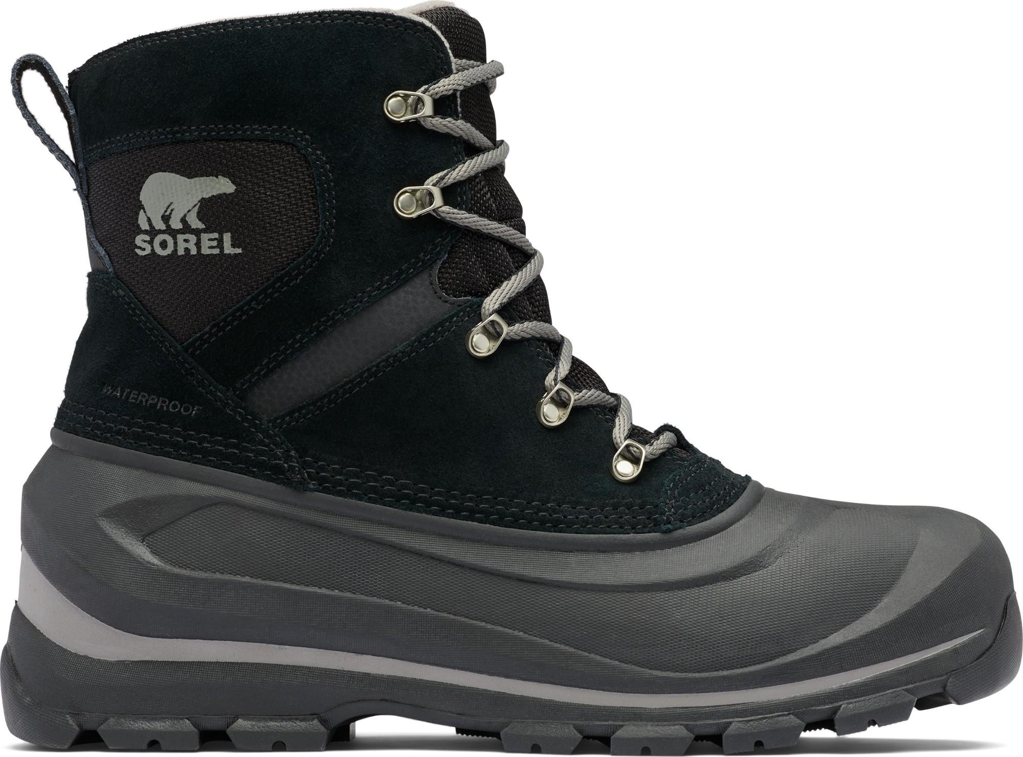 Sorel Buxton Lace Men's Waterproof Black/Quarry 43