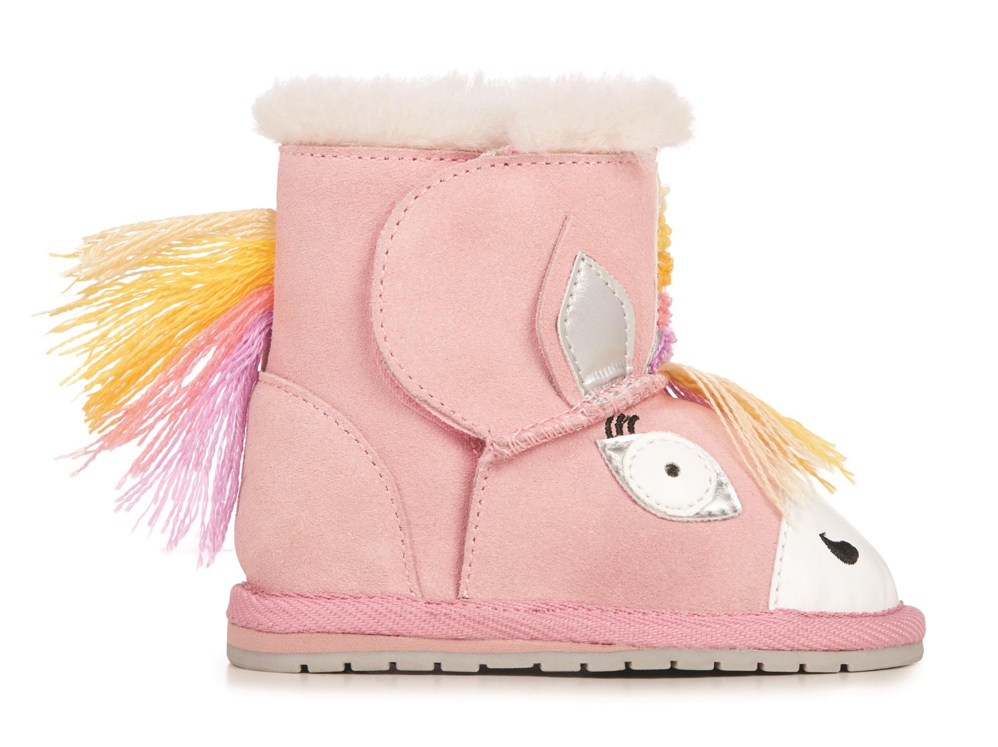 EMU Australia Magical Unicorn Walker Pale Pink 18M+