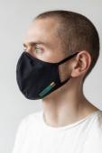 AUDIMAS Daugkartinio naudojimo 3D kaukė VARDAN TOS Black