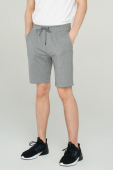 Audimas STRETCHY COTTON SHORTS 2011-420 Pewter Melange
