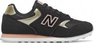New Balance WL393 Black/Gold