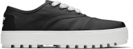 TOMS Canvas Women's Cordones Lug Sneaker Black