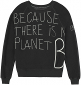 ECOALF Because Handwritten Sweatshirt Women's Asphalt