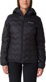 Columbia Delta Ridge Down Hooded Jacket Women's Black