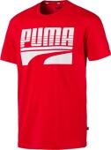 Puma Rebel Bold Tee Red