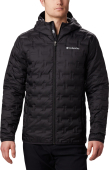 Columbia Delta Ridge Down Hooded Jacket Men's Black
