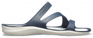 Crocs™ Women's Swiftwater Sandal Navy/White