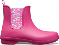 Crocs™ Freesail Chelsea Boot Berry/Dots