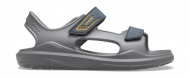 Crocs™ Swiftwater Expedition Sandal Kids Slate Grey/Charcoal