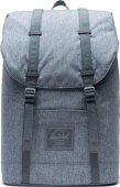 Herschel Retreat Light Raven Crosshatch