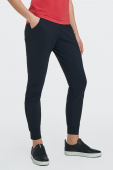 AUDIMAS Women's knitted trousers suitable for active leisure Black