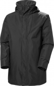 HELLY HANSEN Dubliner Insulated Long Jacket Men's Black