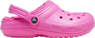 Crocs™ Classic Lined Clog Electric Pink/Electric Pink