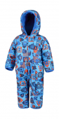Columbia Snuggly Bunny Bunting Super Blue Critter Block/Super Blue