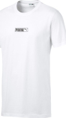 Puma Graphic Logo N.2 Tee White