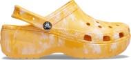 Crocs™ Classic Platform Graphic Clog Women's Orange Sorbet