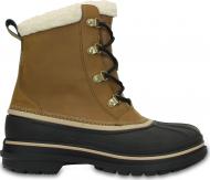 Crocs™ Men's AllCast II Boot Wheat/Black